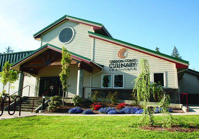 Photo of the outside of the building of the culinary institute