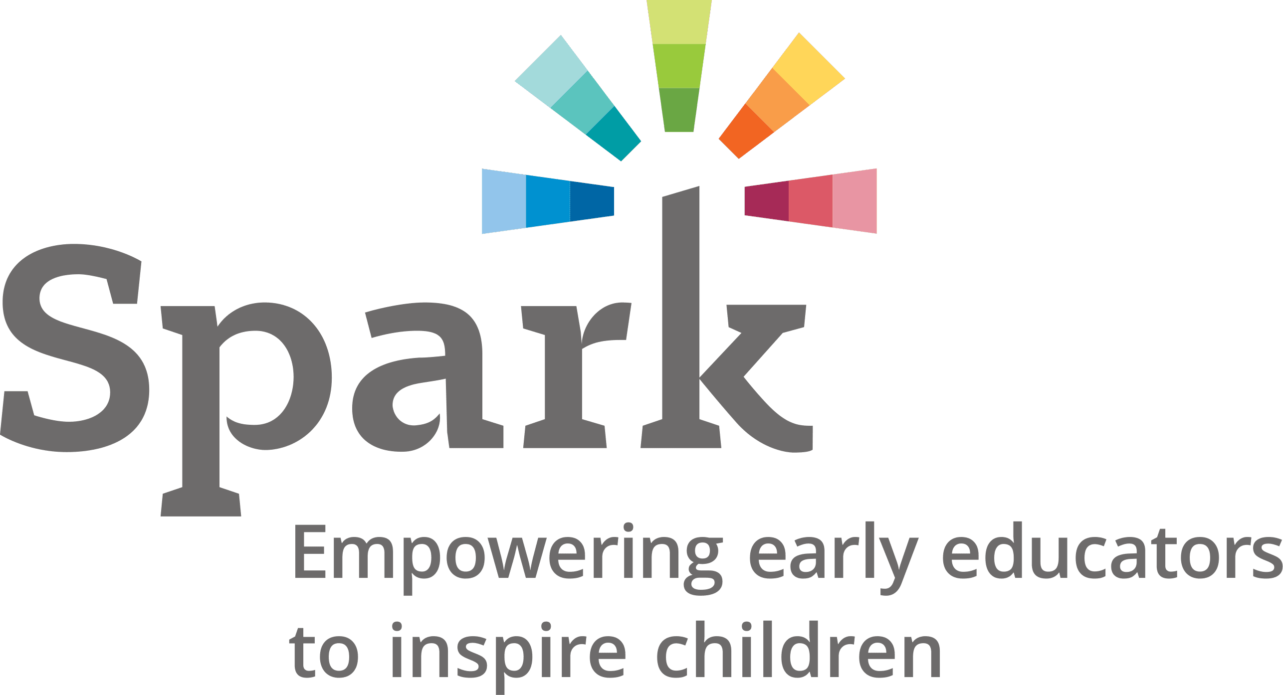 QRIS Spark Logo Color English High
