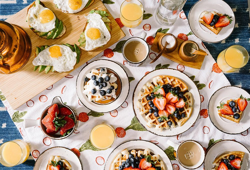 photo of brunch items