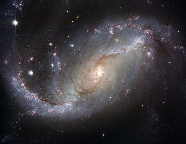 Galaxy photographed by Hubble Telescope