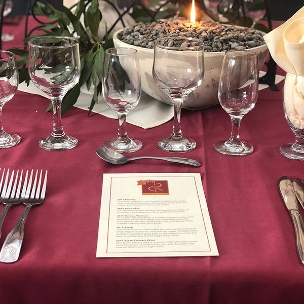 photo of a table setting